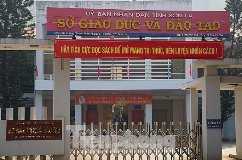 Sở GD&ĐT tỉnh Sơn La.