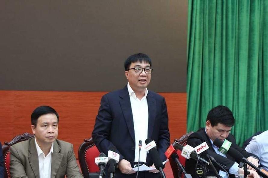 Ông Vũ Văn Viện, Giám đốc Sở GTVT Hà Nội.