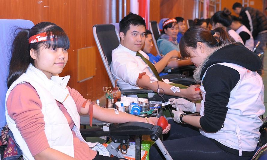 Tuổi trẻ Hải Dương hào hứng hiến máu Chủ nhật Đỏ lần thứ X