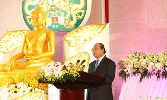 Phó Thủ tướng Nguyễn Xuân Phúc phát biểu tại lễ bế mạc.