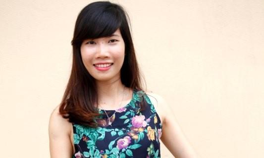Nữ sinh tình nguyện dự thi Người đẹp Tây Thiên