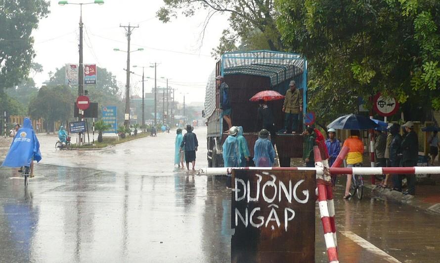 Hà Nội đã lên các phương án chống ngập cho bão số 2