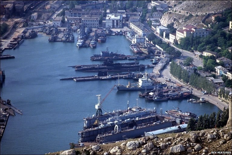 Kiev đòi 'đuổi' Hạm đội Biển Đen ra khỏi Ukraine