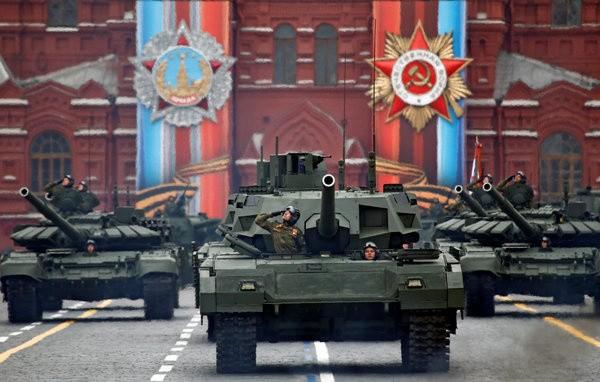Ấn tượng khí tài quân sự Nga trong cuộc duyệt binh Ngày Chiến thắng