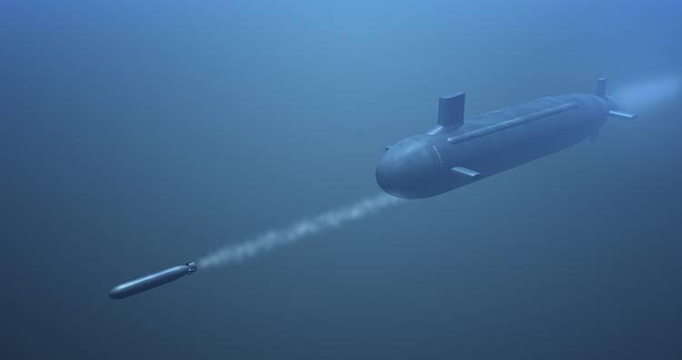 Nga trình làng thiết bị đánh chặn ngư lôi dành cho tàu ngầm