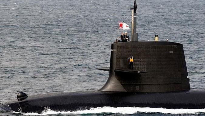 Tàu ngầm lớp Soryu của Nhật Bản. Nguồn: News