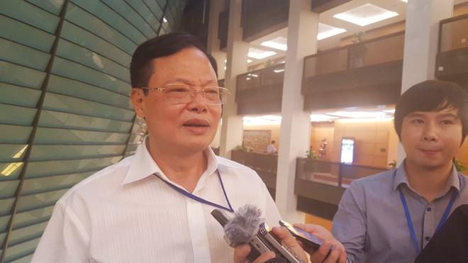 Cục trưởng Cục Chống tham nhũng Phạm Trọng Đạt trao đổi với báo chí về phòng chống tham nhũng. Ảnh: LD