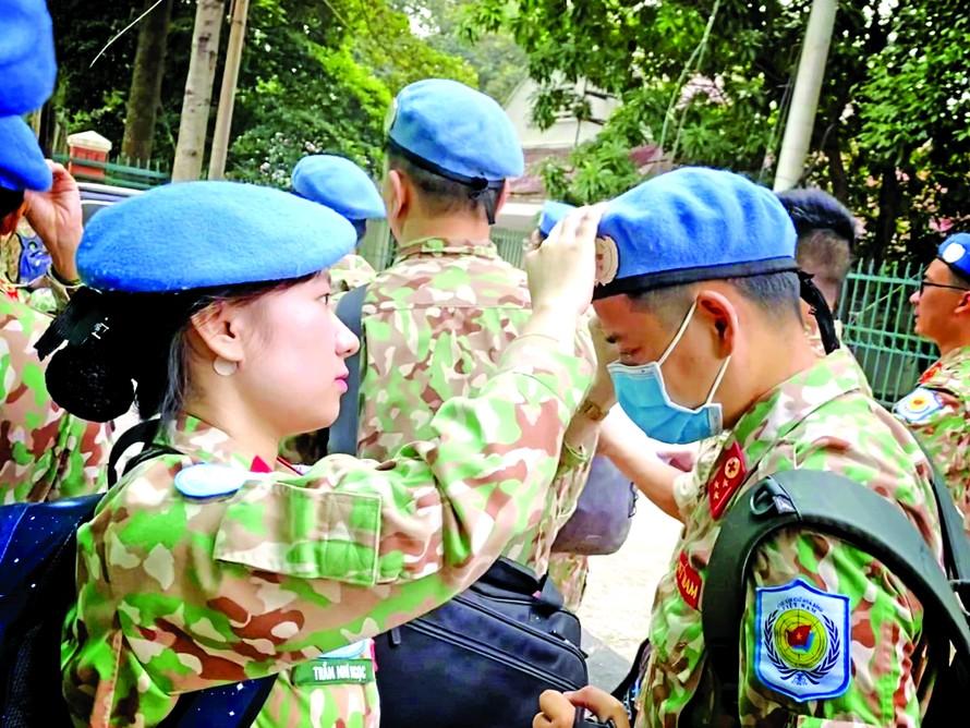 Thanh xuân của nhiều quân nhân trẻ là mong muốn được tham gia lực lượng gìn giữ hòa bình Liên Hợp Quốc
