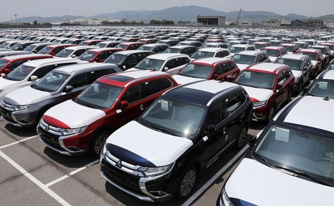 Mỹ là thị trường lớn của xe hơi Nhật Bản. (asia.nikkei.com)