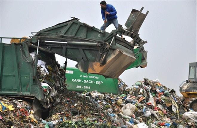 Khu xử lý rác thải Nam Sơn đang quá tải