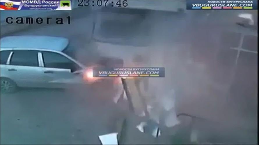 May mắn thoát chết trong tai nạn kinh hoàng