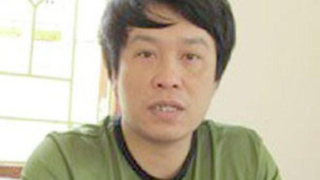 Giang Lê Huấn khi mới bị bắt.