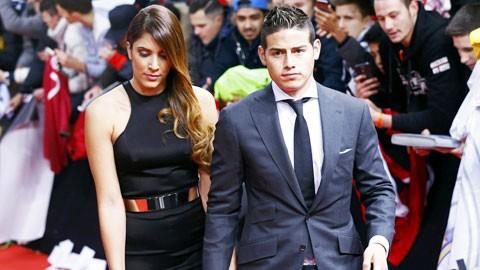 James Rodriguez khẳng định mình vô tội và đang hạnh phúc với cô vợ Daniela