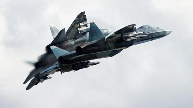 Tiêm kích T-50 mang các loại vũ khí đối không và đối hải. Ảnh: Russian Planes.