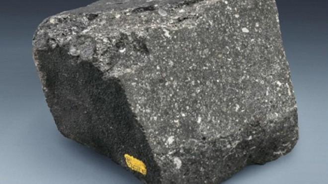 Mảnh thiên thạch Allende được tìm thấy ở Mexico.