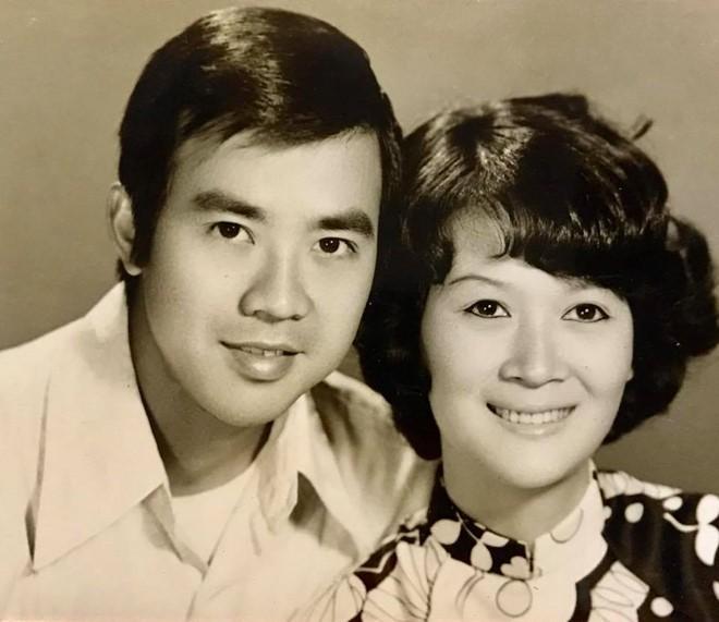 Vợ chồng nghệ sĩ Bảo Quốc khi còn trẻ.