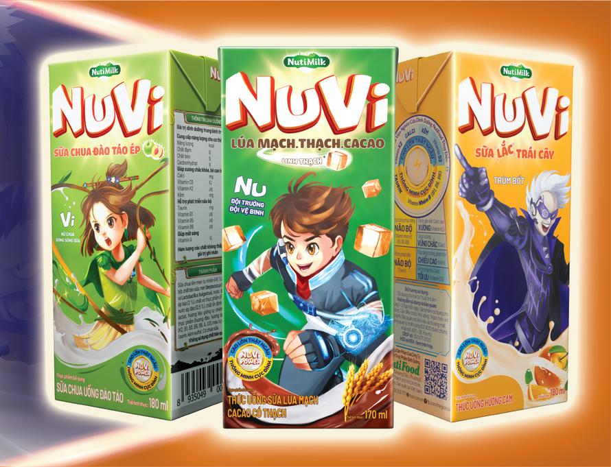 Chơi lớn ngay sau Tết, NutiMilk đầu tư khủng vào thế giới Nuvi cho trẻ em