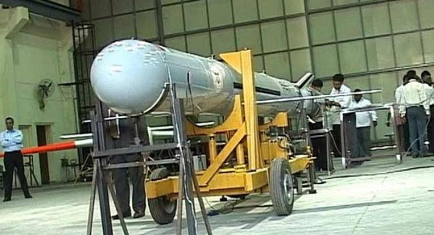 Tên lửa hành trình tầm trung Nirbhay. Ảnh: Sputnik