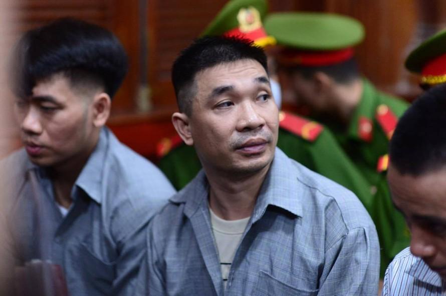 Trùm ma túy Văn Kính Dương tại phiên tòa. Ảnh: Tân Châu