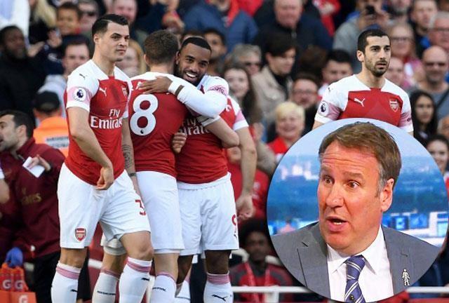 Charles Merson nhận định Arsenal khó có cơ hội giữ được vị trí Top 4.