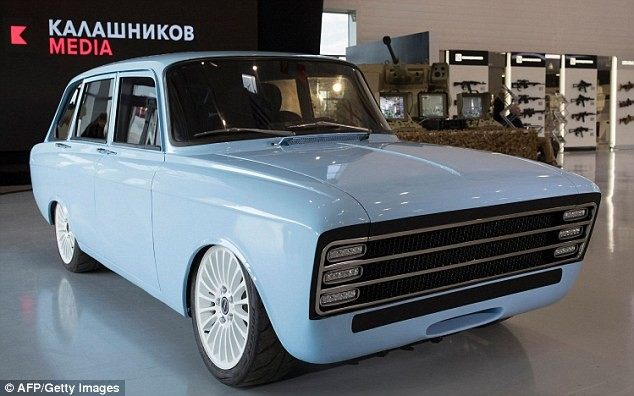 Siêu xe điện của Nga có thiết kế giống xe Lada được ưa chuộng từ những năm 1970.