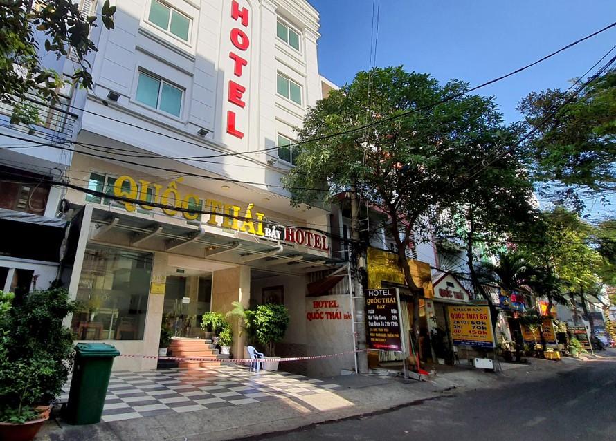 Khách sạn nơi bệnh nhân 2580 lưu trú ở TPHCM.