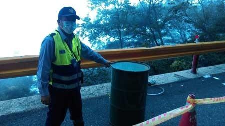 Chiếc thùng phuy giấu xác người được phát hiện ngày 4/10.