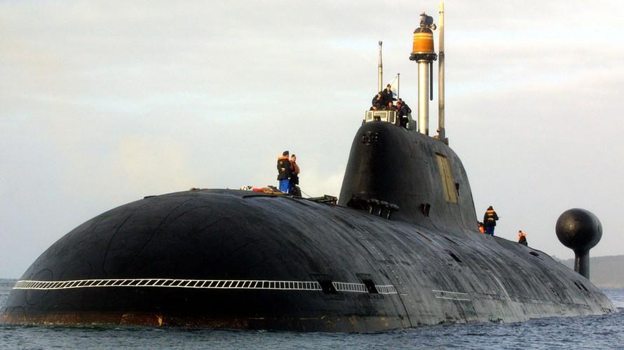 Tàu ngầm Shchuka-B của Nga. Ảnh: AFP