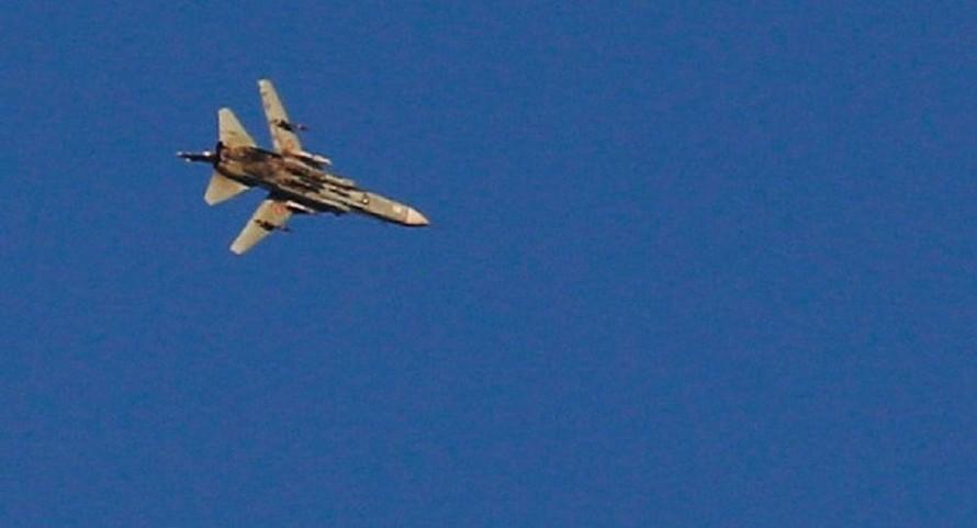 Máy bay Syria xuất hiện gần biên giới với Israel ngày 23/7.