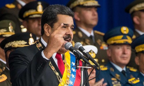 Tổng thống Venezuela Nicolas Maduro. Ảnh: EPA
