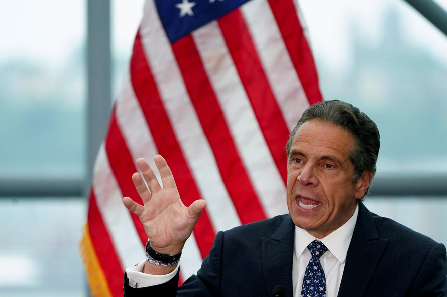 Thống đốc New York - Andrew Cuomo. Ảnh: Reuters