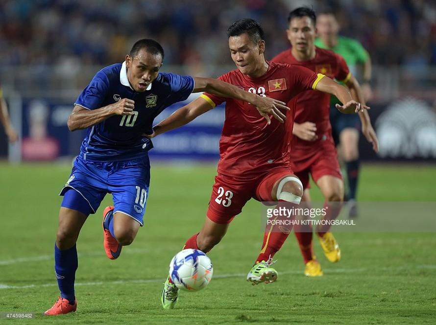 Teerasil Dangda quyết cùng Thái Lan vô địch AFF Cup 2016.