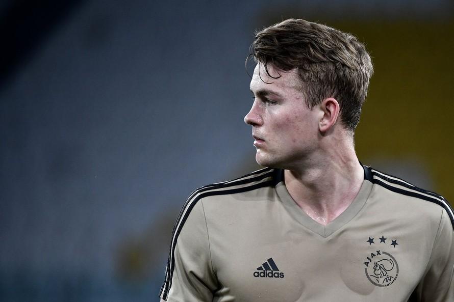 Mới 19 tuổi, nhưng Matthijs de Ligt đã là thủ quân của Ajax.