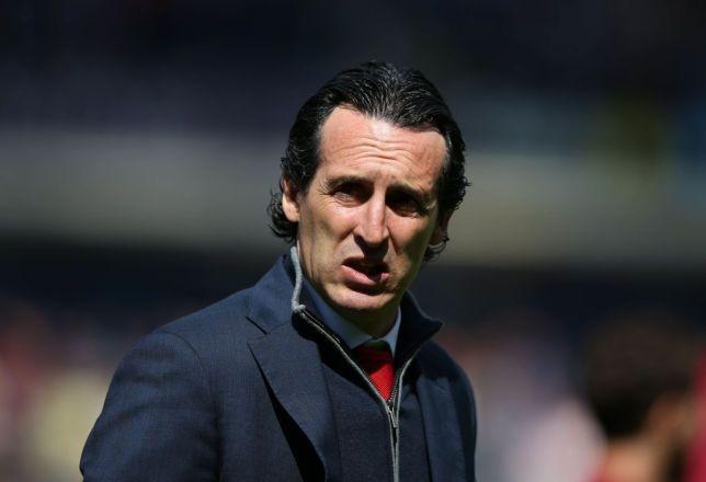 HLV Unai Emery của Arsenal.