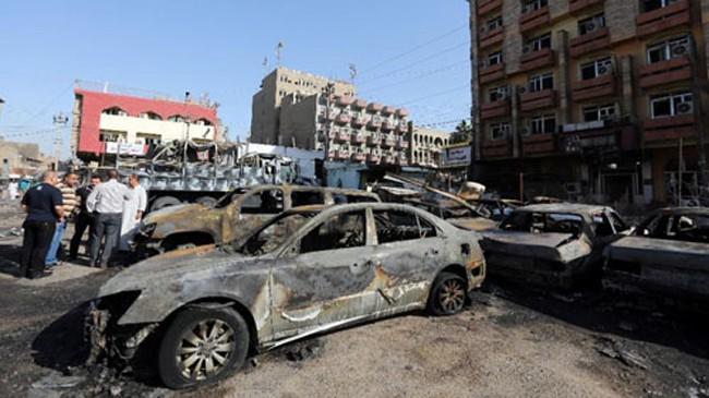 Các vụ đánh bom ở Baghdad khiến hơn 200 người chết trong tháng 9. Ảnh minh họa: AFP