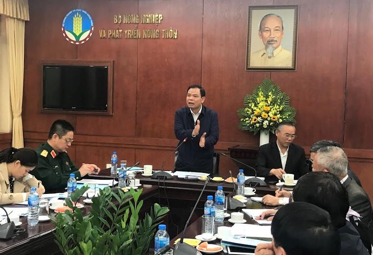 Bộ trưởng NN&PTNT Nguyễn Xuân Cường nhận định dịch tả lợn châu Phi tiếp tục nguy cơ lan rộng