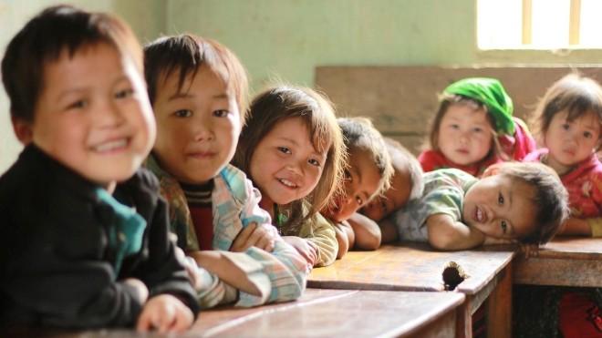 Nét hồn nhiên trẻ em vùng cao qua 10.000 bức ảnh