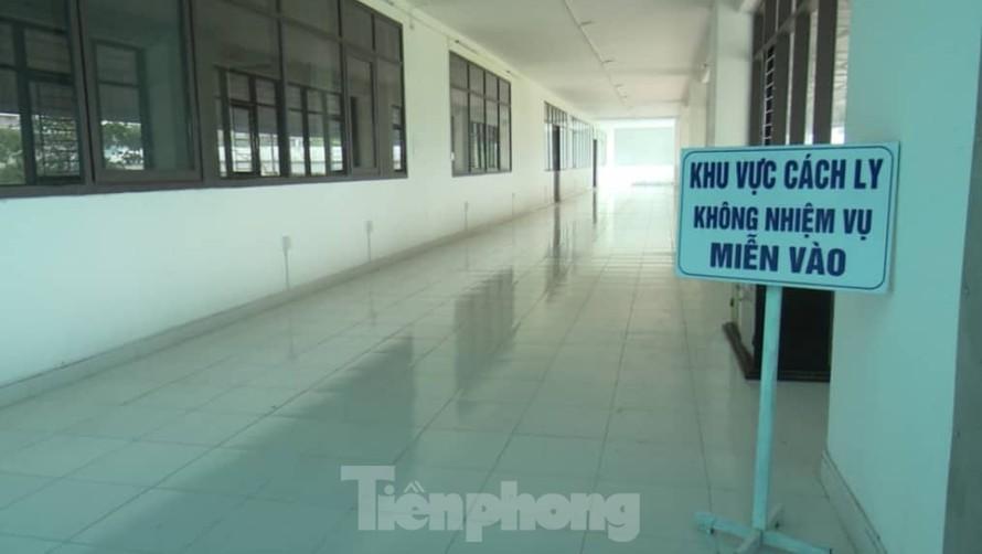 Các bệnh viện Thái Bình đều chuẩn bị khu cách ly và các điều kiện để ứng phó tình huống có dịch - Ảnh: Hoàng Long