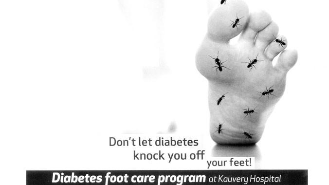 Chăm sóc đôi chân khi chưa muộn