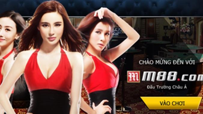 Giao diện trang web M88.com