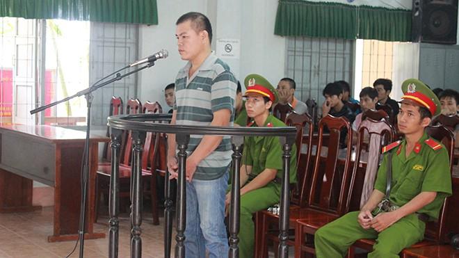 Bị cáo Thành tại phiên tòa