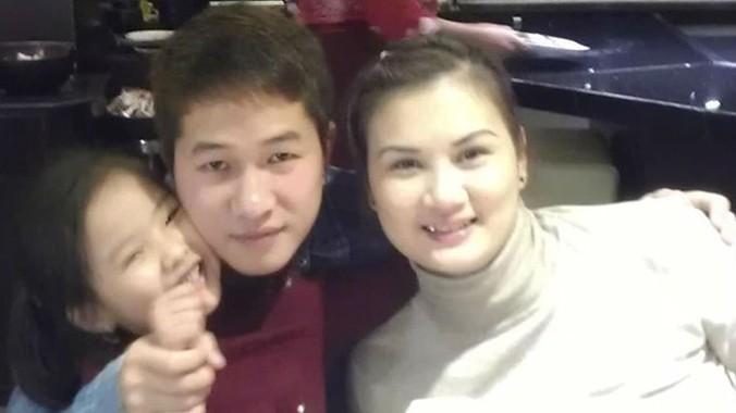Gia đình nhỏ của hoa khôi số 1 bóng chuyền Việt Nam một thời. Ảnh: FBNV.