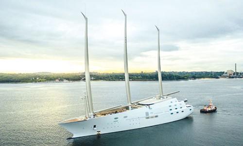 Sailing Yacht A được xem là du thuyền lớn và tốn kém nhất thế giới. Ảnh: Yachtingworld.