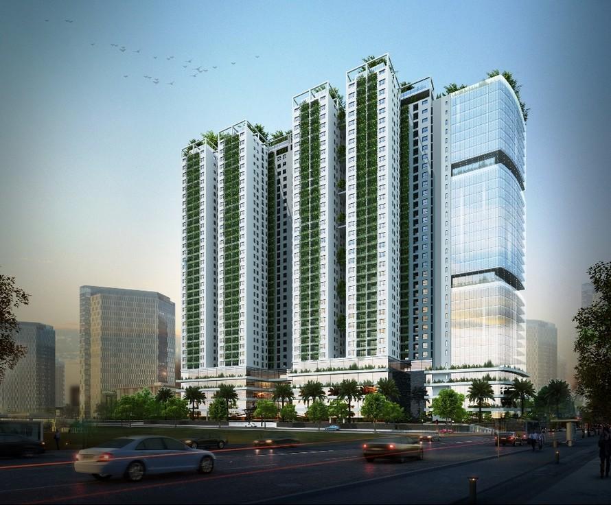 Ecolife Capitol tọa lạc tại 58 Tố Hữu, là dự án đang rất được chú ý trên trục đường Lê Văn Lương phía Tây thủ đô HN.