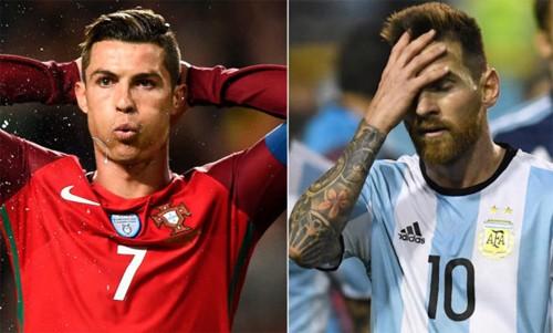 Messi và Ronaldo nơm nớp lo vắng mặt ở World Cup 2018
