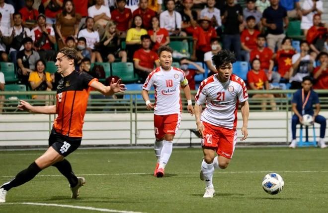 Công Phượng có bàn thắng thứ 2 cho CLB Tp Hồ Chí Minh ở AFC Cup 2020.