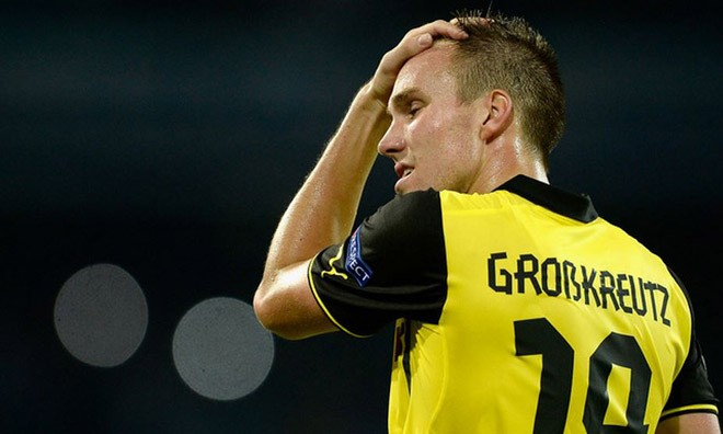Kevin Grosskreutz có nguy cơ lỡ World Cup 2014.