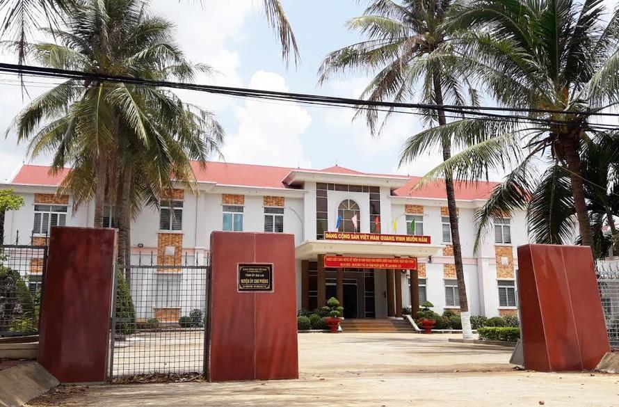Trụ sở Huyện ủy Chư Prông