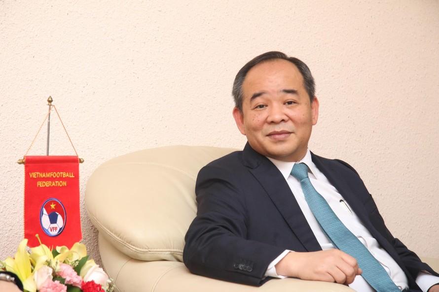 Chủ tịch VFF Lê Khánh Hải xin nghỉ, ai sẽ thay?