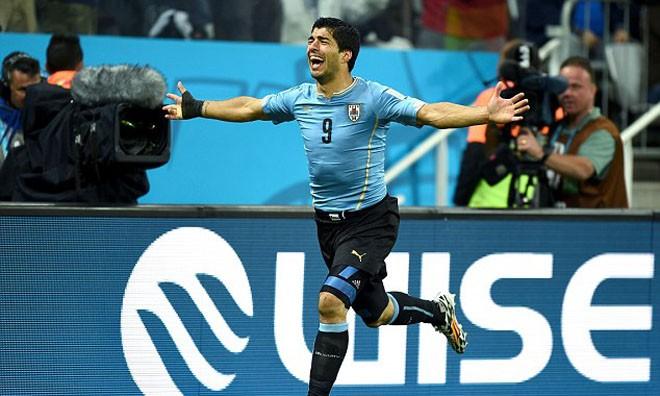 TIN NHANH World Cup tối 24/6: Suarez sẽ khiến Italia phải... khóc thét